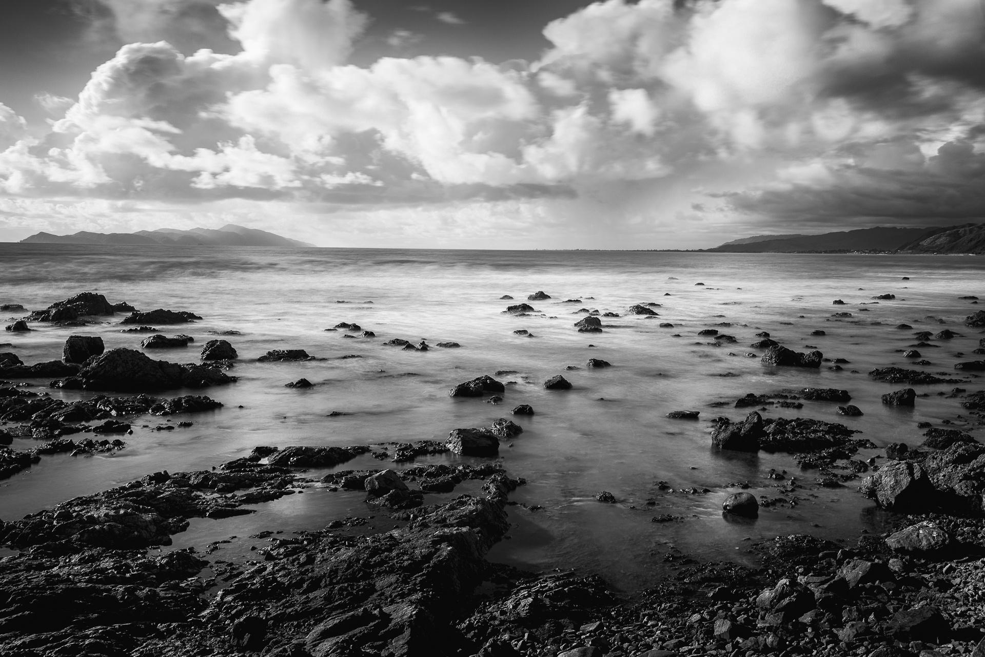 Kapiti Island and the Paraparaumu coastline