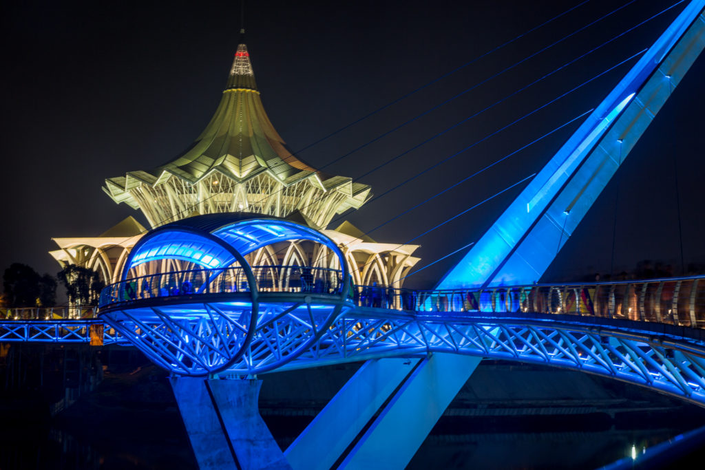 Bridge over the Sarawak River