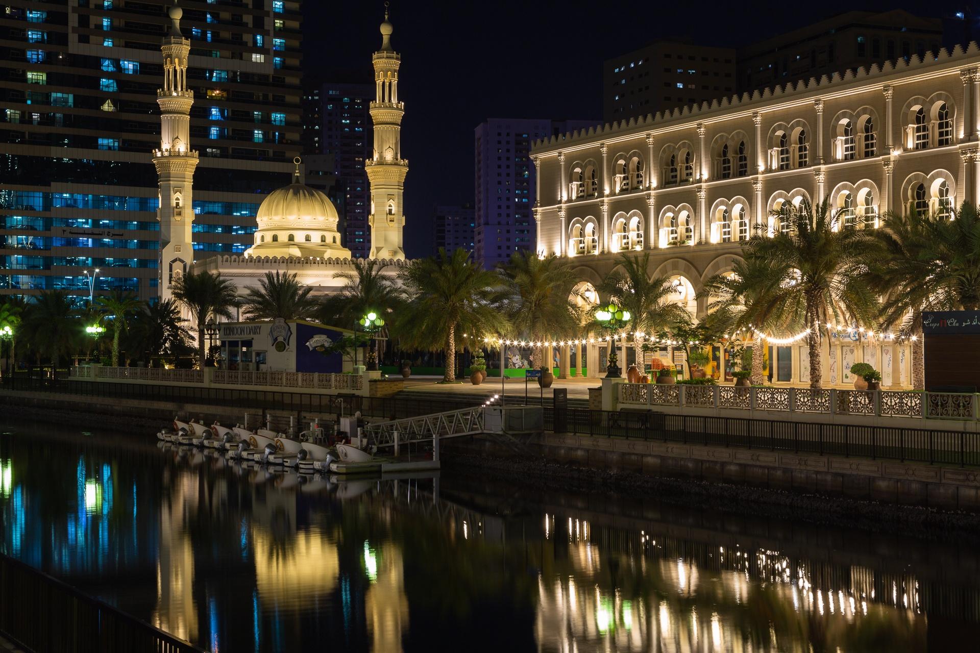 Mosque at Al Qasbr, Sharjah