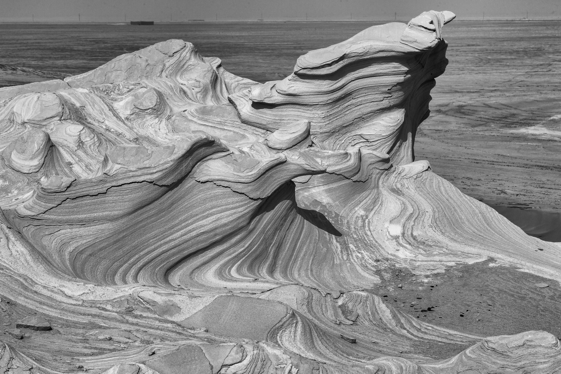 Fossil Dunes - weathered formations