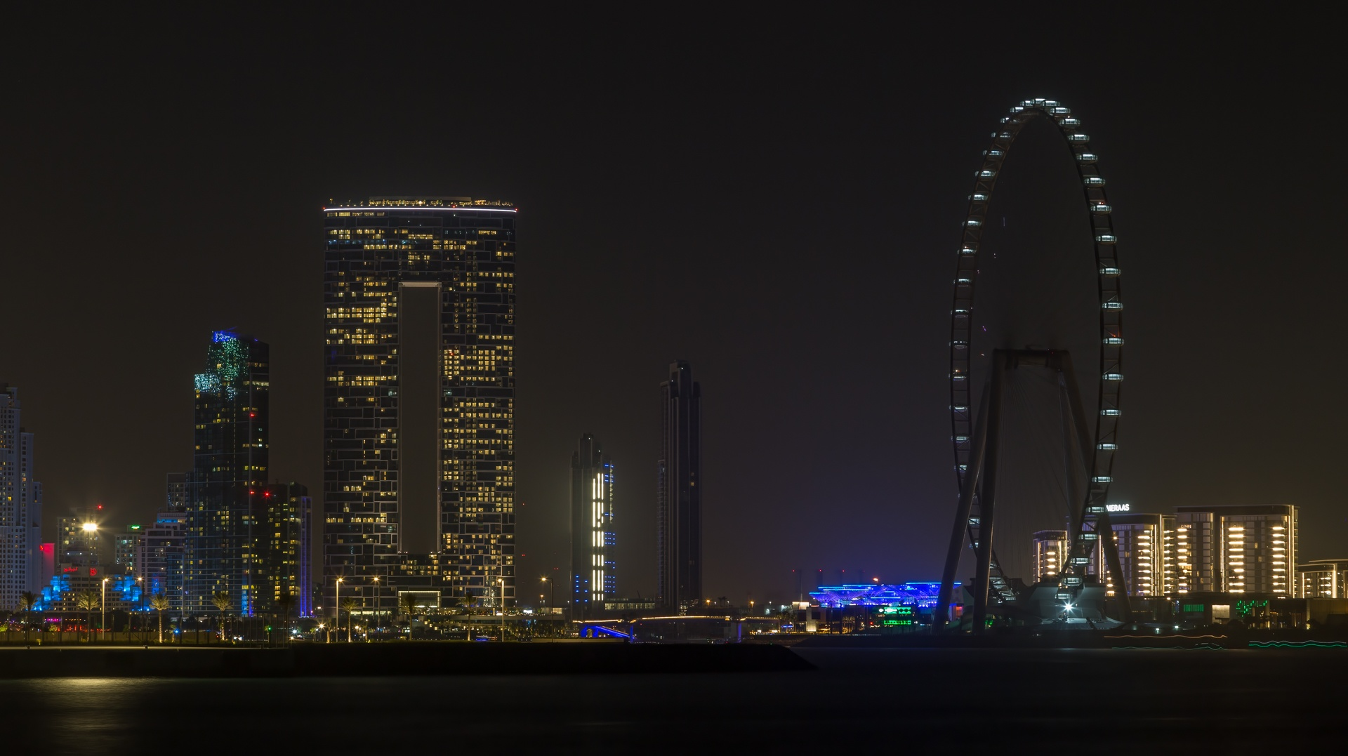 The Giant Ferris Wheel in Dubai