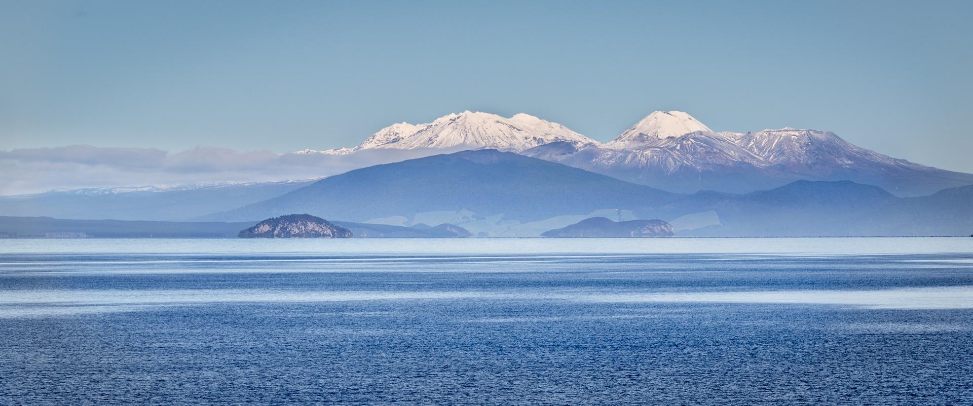 Mt Tongariro and Mt Ngauruhoe, NZ