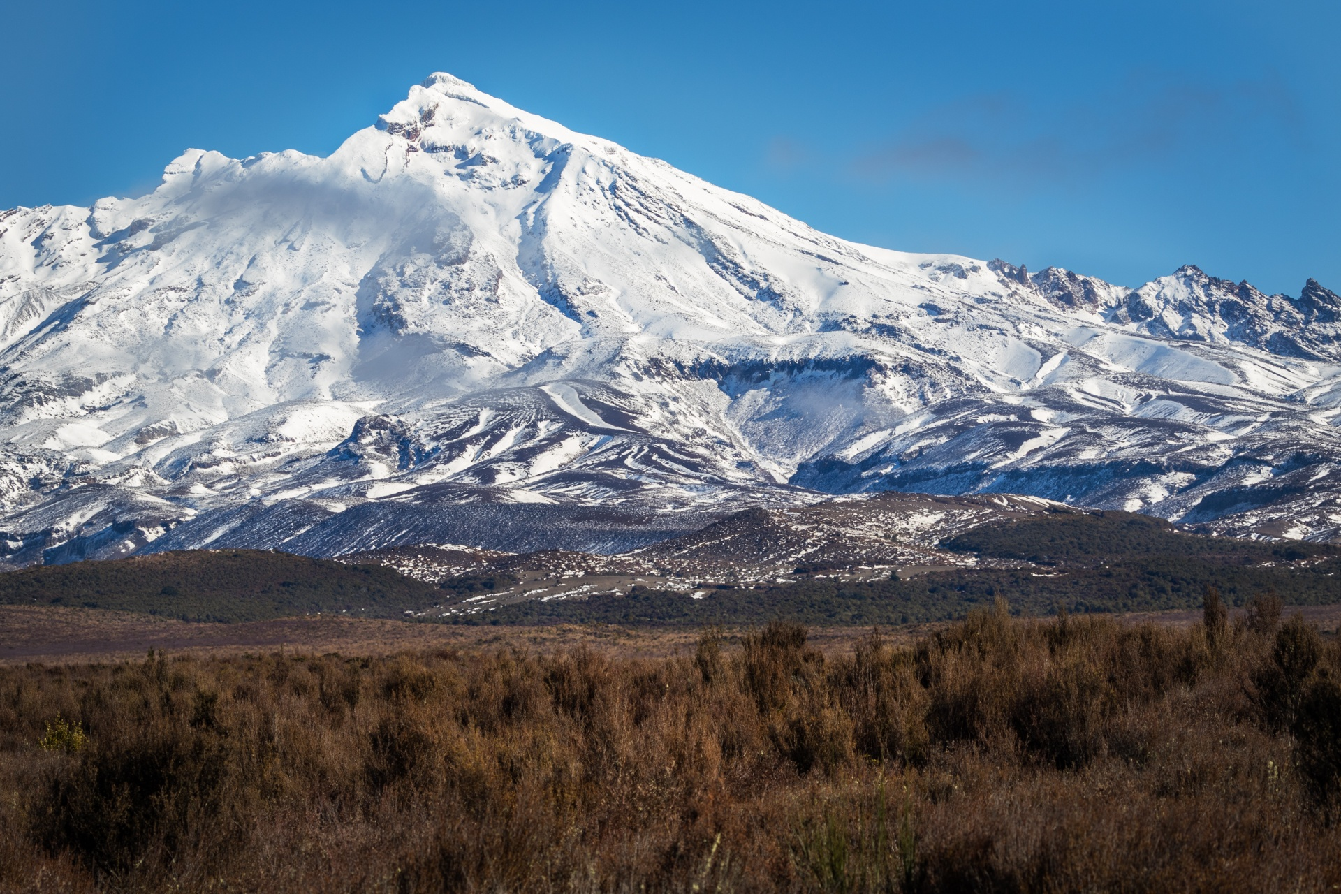Mt Tongariro, NZ